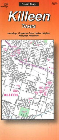 Buy map Killeen, Texas by The Seeger Map Company Inc.