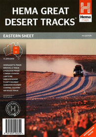 Buy map Australia, Eastern, Great Desert Tracks, 7th edition by Hema Maps