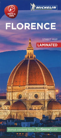 Buy map Florence City Map, Laminated by Michelin Maps and Guides