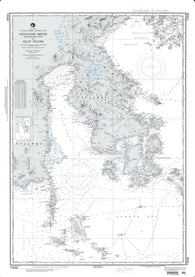 Buy map Kepulauan Bone Rate To Selat Peleng (NGA-73008-8) by National Geospatial-Intelligence Agency