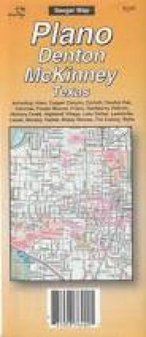 Buy map Dallas, North, Texas by The Seeger Map Company Inc.