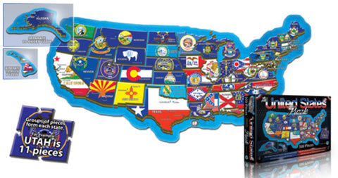 Buy map United States, Puzzle, 500 piece by Broader View