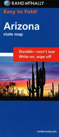 Buy map Arizona, Easy to Fold by Rand McNally