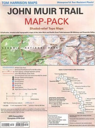 Buy map John Muir Trail Map Pack by Tom Harrison Maps