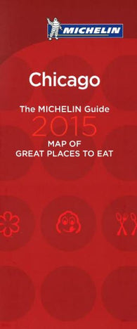 Buy map Chicago, Illinois, Great Places to Eat by Michelin Maps and Guides