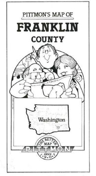 Buy map Franklin County, Washington by Pittmon Map Company