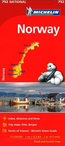 Buy map Norway (752) by Michelin Maps and Guides