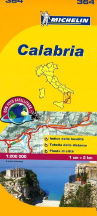 Buy map Calabria, Italy (364) by Michelin Maps and Guides