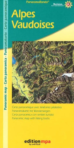 Buy map Alps Vaud Hiking by Orell Fu?ssli Kartographie, Edition MPA by Orell Fussli