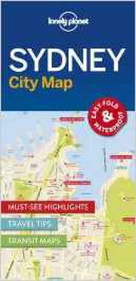 Buy map Sydney City Map by Lonely Planet Publications