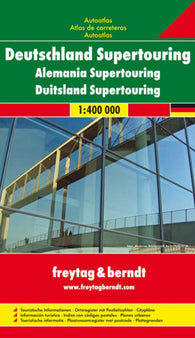Buy map Germany, Supertouring Atlas by Freytag-Berndt und Artaria