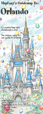 Buy map Orlando, Florida Guidemap by MapEasy, Inc.