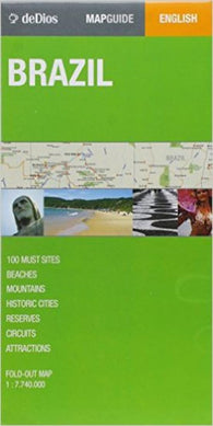 Buy map Brazil by deDios