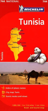 Buy map Tunisia (744) by Michelin Maps and Guides