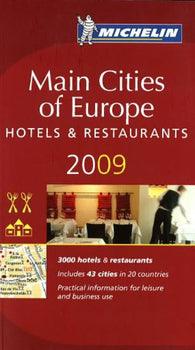 Buy map Europe, Main Cities, Red Guide by Michelin Maps and Guides