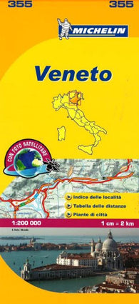 Buy map Veneto, Italy (355) by Michelin Maps and Guides