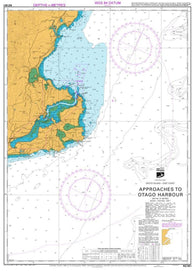 Buy map APPROACHES TO OTAGO HARBOUR (661) by Land Information New Zealand (LINZ)