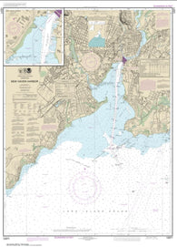 Buy map New Haven Harbor; New Haven Harbor (Inset) (12371-25) by NOAA
