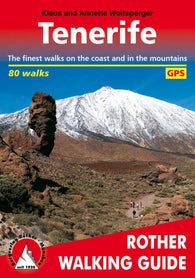 Buy map Tenerife, Rother Walking Guide by Rother Walking Guide, Bergverlag Rudolf Rother