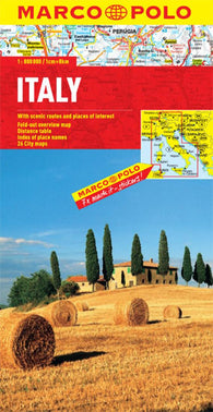 Buy map Italy by Marco Polo Travel Publishing Ltd