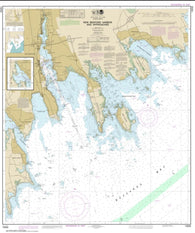 Buy map New Bedford Harbor and Approaches (13232-5) by NOAA