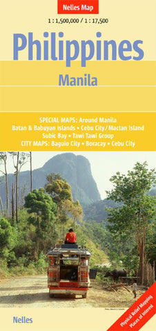 Buy map Philippines featuring Manila by Nelles Verlag GmbH