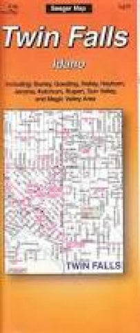 Buy map Twin Falls, Idaho by The Seeger Map Company Inc.