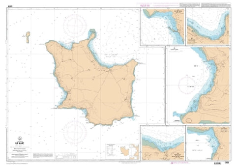 Buy map Ile Mare by SHOM