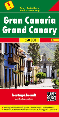 Buy map Grand Canary Road Map 1:50,000 by Freytag-Berndt und Artaria