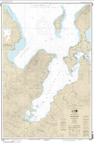 Buy map Captains Bay (16530-7) by NOAA
