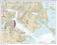 Buy map Boston Inner Harbor (13272-52) by NOAA