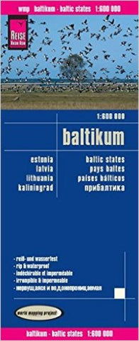 Buy map Baltic Countries, Estonia, Latvia and Lithuania by Reise Know-How Verlag