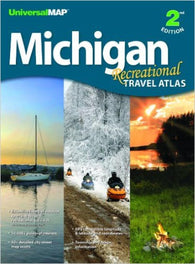 Buy map Michigan, Recreational Travel Atlas by Kappa Map Group