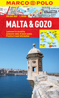 Buy map Malta and Gozo by Marco Polo Travel Publishing Ltd