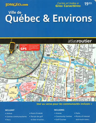 Buy map Quebec City and Environs, Road Atlas (French/English Edition) by Canadian Cartographics Corporation