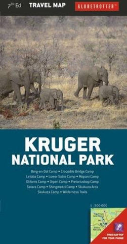 Buy map Kruger National Park Travel Map by New Holland Publishers