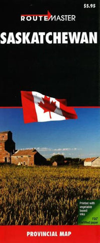 Buy map Saskatchewan by Route Master