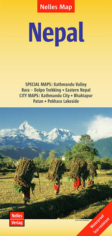 Buy map Nepal by Nelles Verlag GmbH