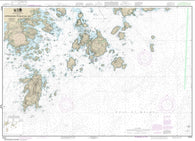 Buy map Approaches to Blue Hill Bay (13313-21) by NOAA