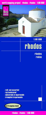 Buy map Rhodes, Greece by Reise Know-How Verlag
