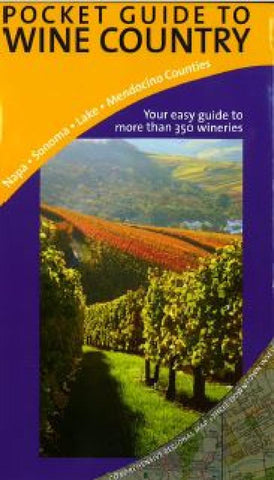 Buy map Napa and Sonoma, Pocket Guide to Wine Country by Great Pacific Recreation & Travel Maps