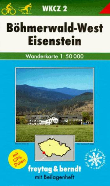Buy map Bohmerwald West and Eisenstein, WKCZ 2 by Freytag-Berndt und Artaria