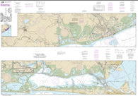 Buy map Intracoastal Waterway Galveston Bay to Cedar Lakes (11322-33) by NOAA