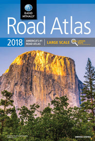 Buy map Large Scale Road Atlas 2018 : United States by Rand McNally