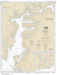 Buy map Behm Canal-western part; Yes Bay (17422-9) by NOAA