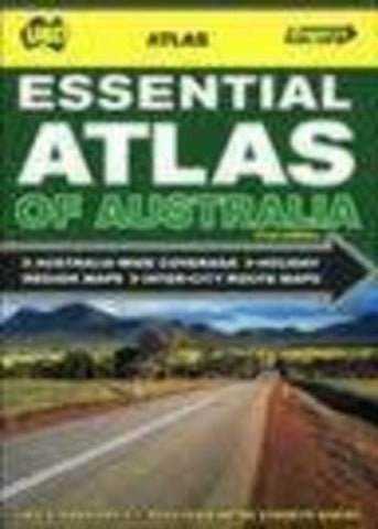 Buy map Australia, Essential Atlas of by Universal Publishers Pty Ltd