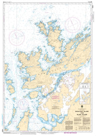Buy map Bacalhao Island to/a Black Island by Canadian Hydrographic Service