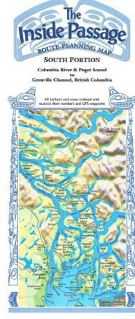 Buy map Inside Passage, Alaska and Canada, South Portion by Fine Edge