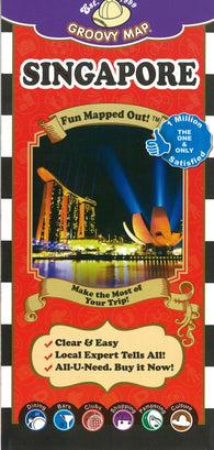 Buy map Singapore, Map n Guide 7ed by Groovy Map Co.