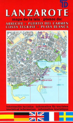 Buy map Lanzarote, Spain by Distrimapas Telstar, S.L.